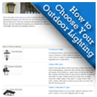 Shop How to Choose Your Outdoor Lighting