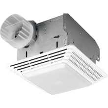 80 CFM 2.5 Sone Ceiling Mounted HVI Certified Utility Fan with Light
