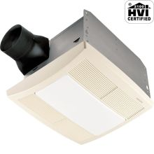110 CFM 1.3 Sone Ceiling Mounted Energy Star Rated and HVI Certified Bath Fan with Light and Night Light from the QT Collection