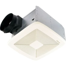 80 CFM 0.3 Sone Ceiling Mounted Energy Star Rated and HVI Certified Bath Fan from the QT Collection