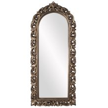 Howard Elliott Orleans Pewter Arched Mirror