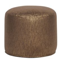 Howard Elliott Glam Tall Pouf Ottoman