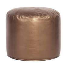 Howard Elliott Shimmer Tall Pouf Ottoman