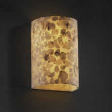 Justice Design Group ALR-1265W Wall Sconce from the Alabaster Rocks! Collection