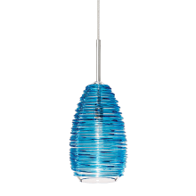 LBL Lighting Vortex Aqua Blue 2-Circuit Rail