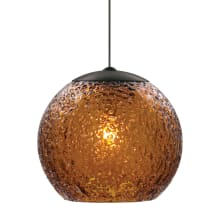 LBL Lighting Mini Rock Candy G LED Dark Amber 6W Monopoint