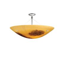 LBL Lighting Veneto Venti Semi-Flush Amber 100W
