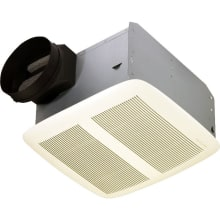110 CFM 0.7 Sone Ceiling Mounted Energy Star Rated HVI Certified Bath Fan from the QT Collection