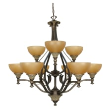 Nuvo Lighting Two Teir Chandelier