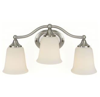 Murray Feiss MF VS10503 Traditional / Classic 3 Light 18 Inch Wide Bathroom Fixture from the Claridge Collection