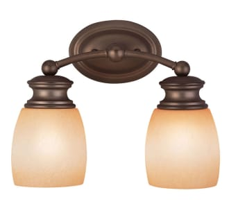 Savoy House 8-9127-2 Traditional / Classic 2 Light 12.25 Inch Wide Bathroom Fixture from the Bath Collection