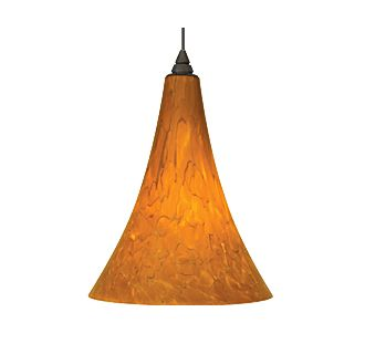 Tech Lighting Melrose Pendant-Tahoe Pine Amber