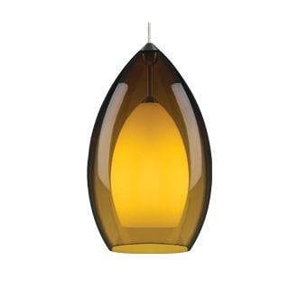 Tech Lighting Fire Grande Pendant-Amber