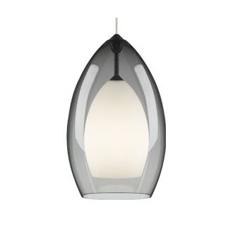 Tech Lighting Fire Grande Pendant-Smoke
