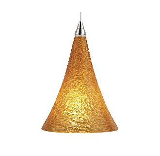 Tech Lighting Sugar Pendant-Amber