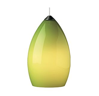 Tech Lighting Firefrost Pendant-Chartreuse