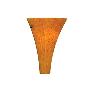 Tech Lighting Melrose Flush Wall-Tahoe Pine Amber