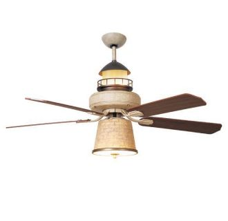 New 52 Unique Lighthouse Ceiling Fan Up Down Lights Ebay