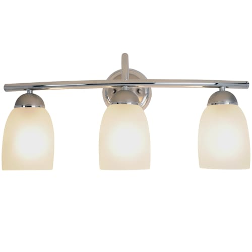 bathroom down lighting af lighting 617509 polished chrome with brushed nickel 10544