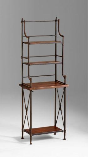 Cyan Design 04927 Rustic Iron Sydney Bakers Rack