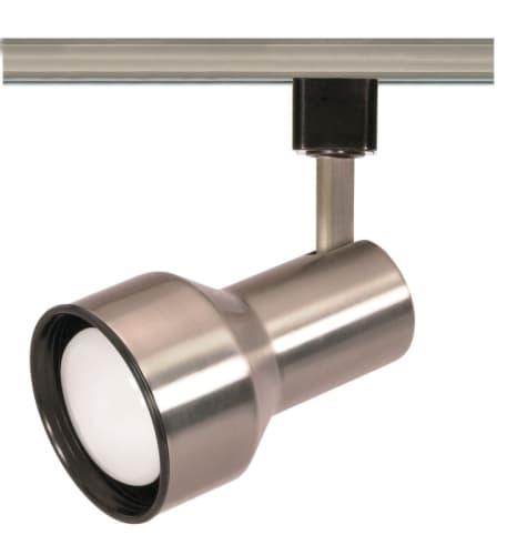 Nuvo Lighting TH303 Brushed Nickel Track Lighting Single Light R20 Step Cylinder Track Head in Brushed Nickel Finish