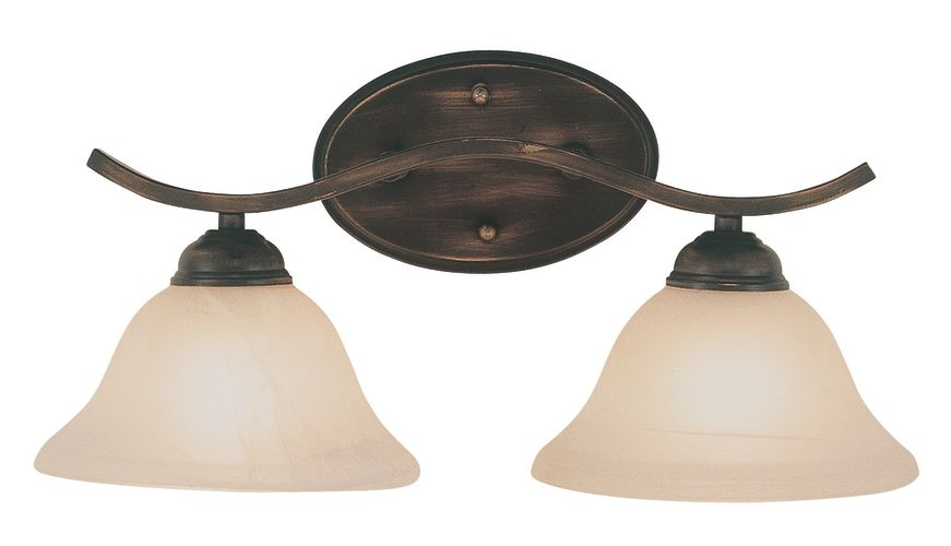 OIL RUBBED BRONZE BATHROOM LIGHT FIXTURES - Bathroom Furniture