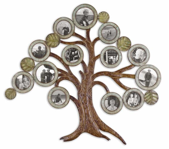 Uttermost 13725 Aged Chestnut Maple Tree Photo Collage