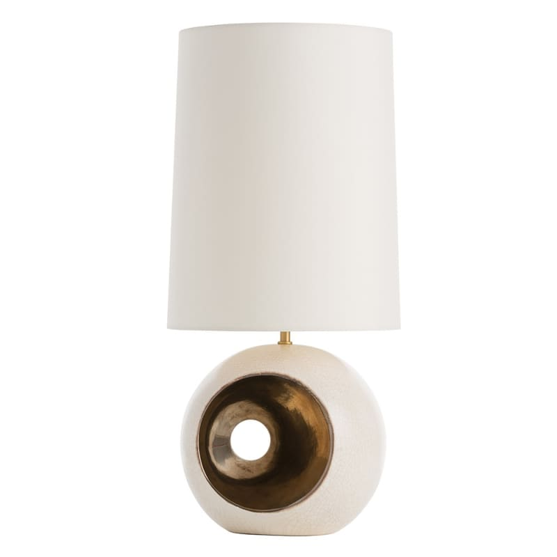 "Arteriors 11157-207 Emmaline 1 Light 24.5"" Tall Table Lamp with Socket Sale $384.00 ITEM#: 2989886 MODEL# :11157-207 UPC#: 796505293855 :"