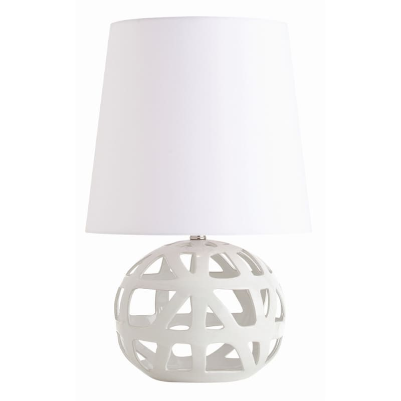 """Arteriors 17001-777 Wendy 1 Light 22"""" Tall Table Lamp with Socket"""