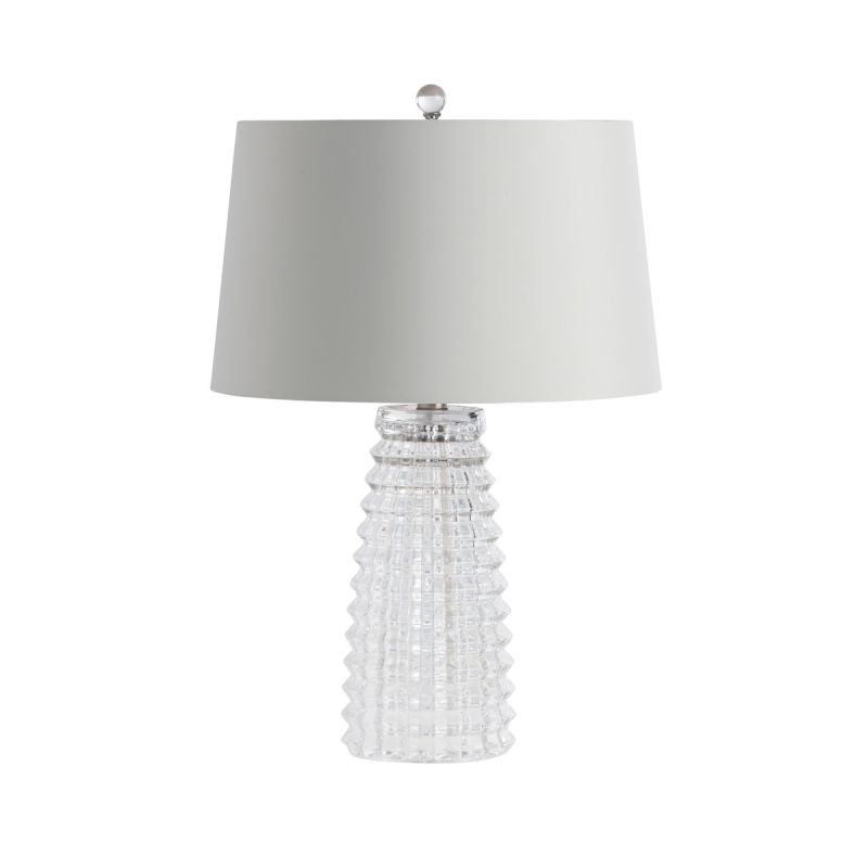 """Arteriors 17523-209 Baxter Single Light 21"""" Tall Table Lamp with White"""