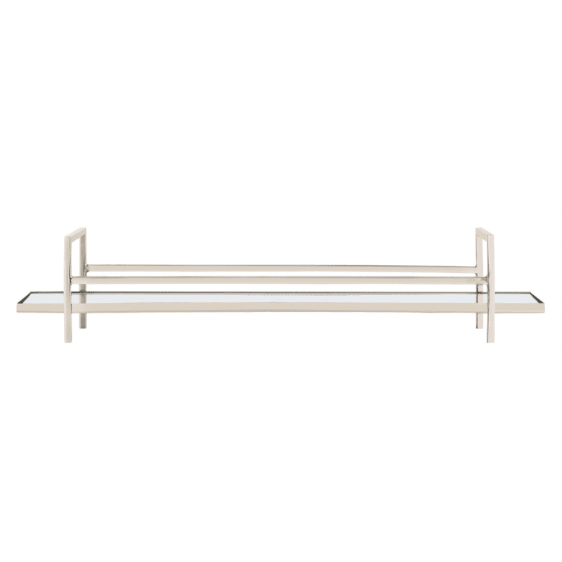 Arteriors 2007 Charles 27 Inch Wide Brass Tray Polished Nickel Home