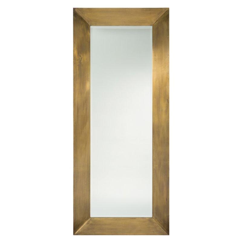 Arteriors 2436 Ira 80 Inch x 34 Inch Rectangular Beveled Framed Floor