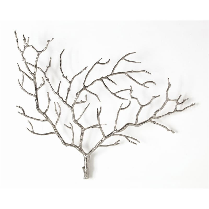 Arteriors 2625 Edwin 22 Inch x 28 Inch Steel Tree Wall Sculpture