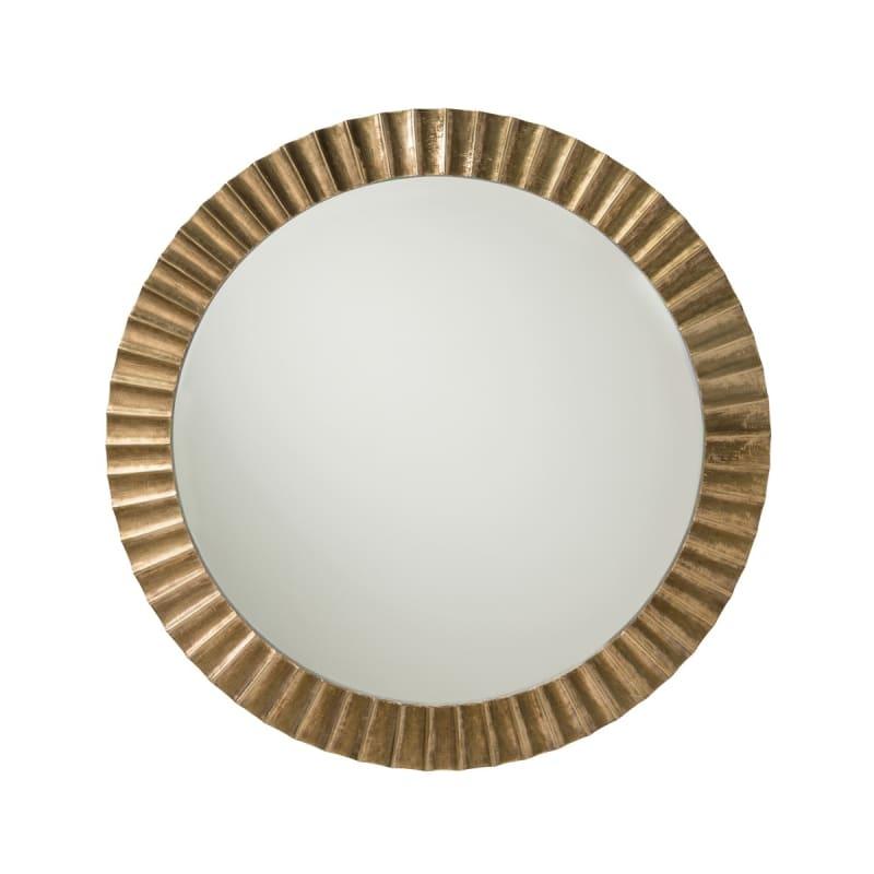 """Arteriors 2688 Ainsley 60"""" Diameter Circular Beveled Brass Framed Wall"""