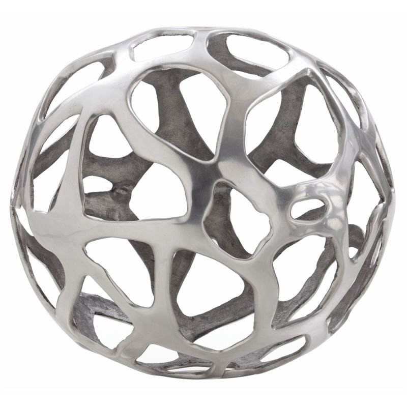 Arteriors 2694.2726 Ennis 13.5 Inch Wide Aluminum Sphere Polished