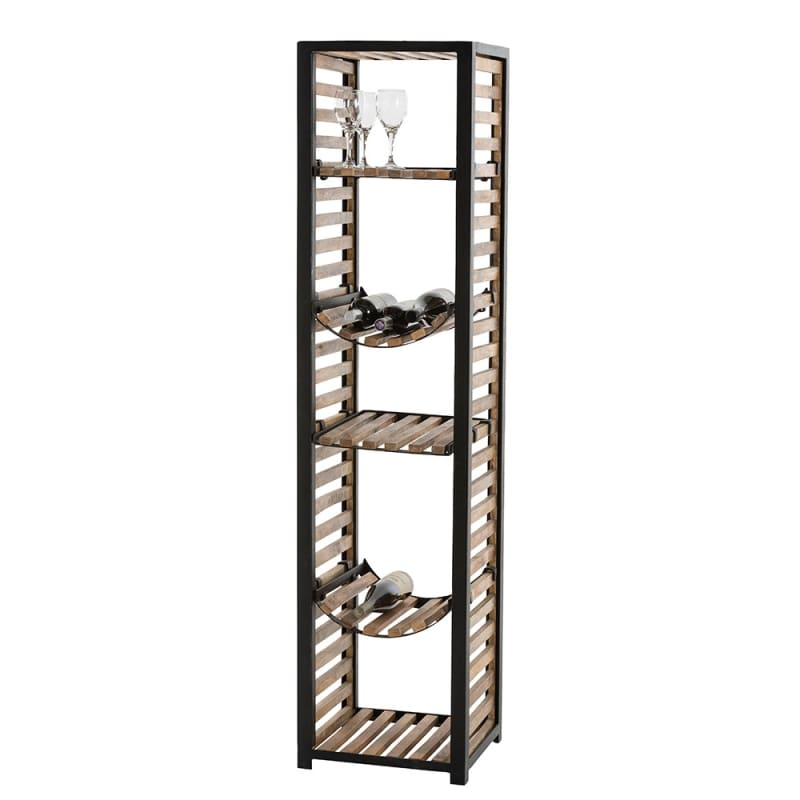 Arteriors 2733 Donovan 67 Inch Tall Etagere Natural Iron Furniture