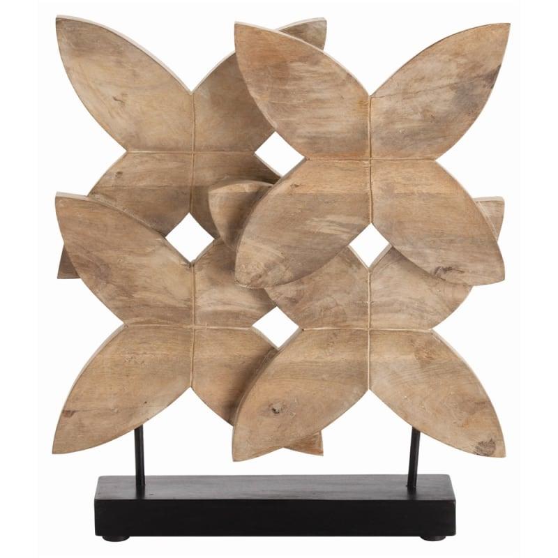 Arteriors 2748 Ella 24 Inch Tall Wood Sculpture Natural Wax Home Decor