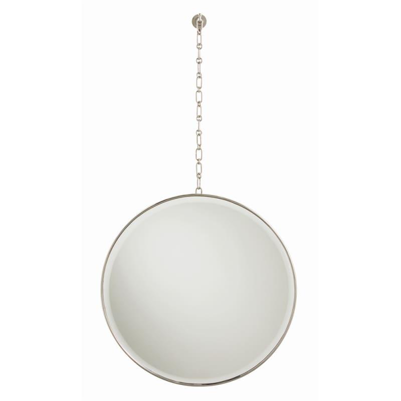 Arteriors 4081.4082 Fletcher 24 Inch Circular Beveled Framed Mirror