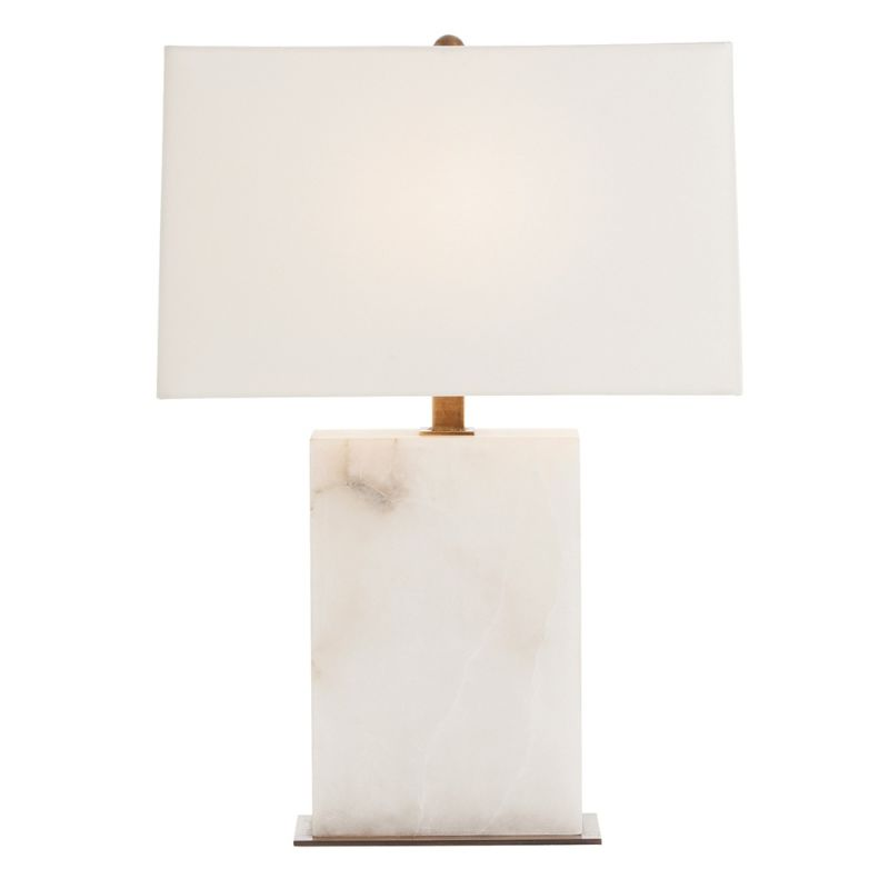 "Arteriors 42328-798 Carson 1 Light 24.5"" Tall Table Lamp with Socket"