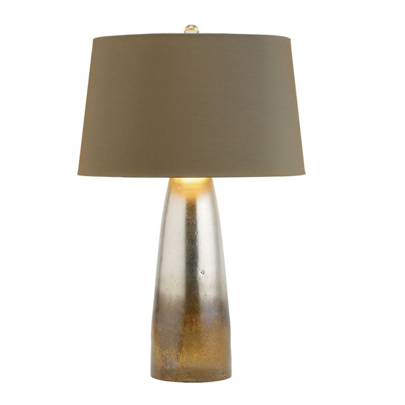 """Arteriors 44498-412 Leopard 1 Light 24"""" Tall Table Lamp with Socket"""