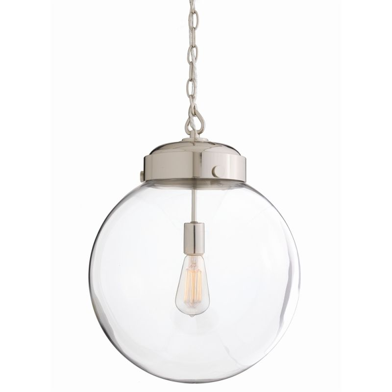 "Arteriors 49912 Reeves 15"" Wide Single Light Pendant Clear Indoor"