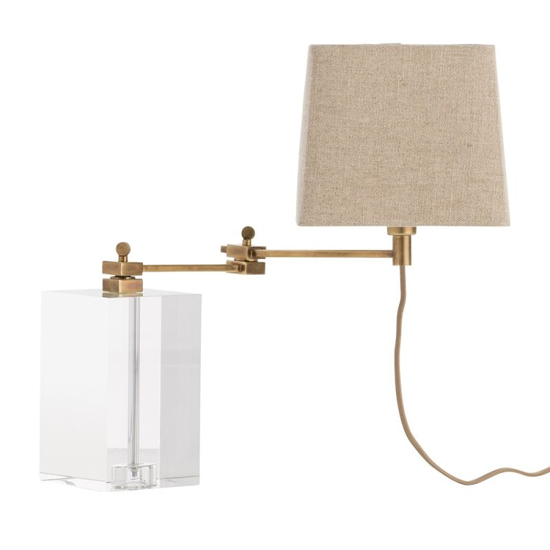 "Arteriors 49941-921 Davenport 1 Light 17.5"" Tall Table Lamp with In"