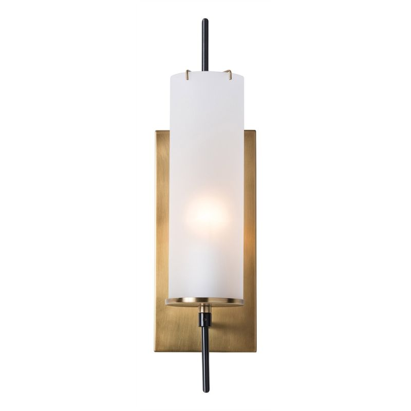 "Arteriors 49999 Stefan 20"" Tall 1 Light Wall Sconce Bronze Indoor"