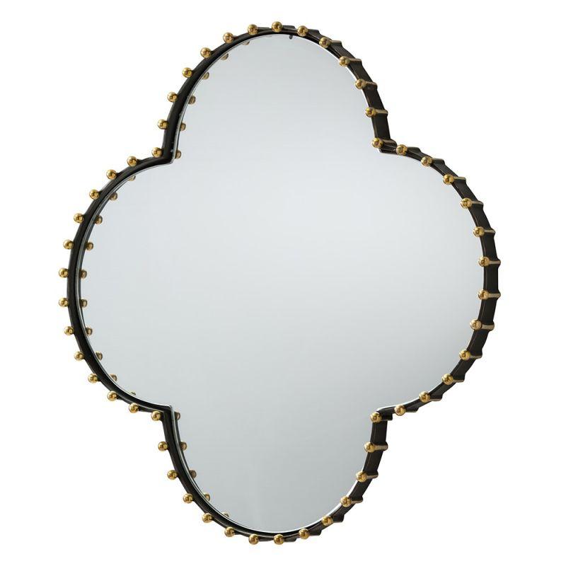 Arteriors 6170 Elana 23.5 Inch Circular Brass Framed Mirror Bronze