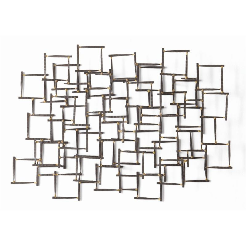 Arteriors 6347.6799 Ecko 34 Inch x 25 Inch Iron Wall Sculpture Brown