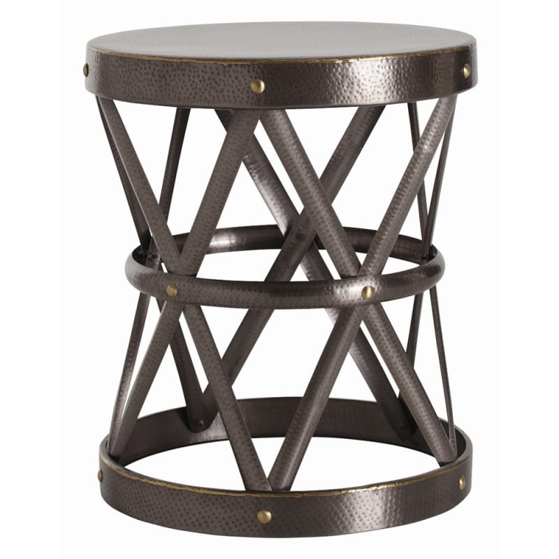 Arteriors 2685.6777 Costello 21.5 Inch Diameter Iron End Table Natural