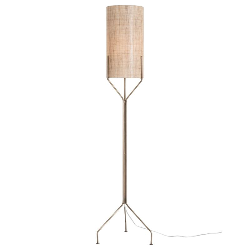 "Arteriors 72001-941 Ellis 1 Light 64"" Tall Floor Lamp with Socket"