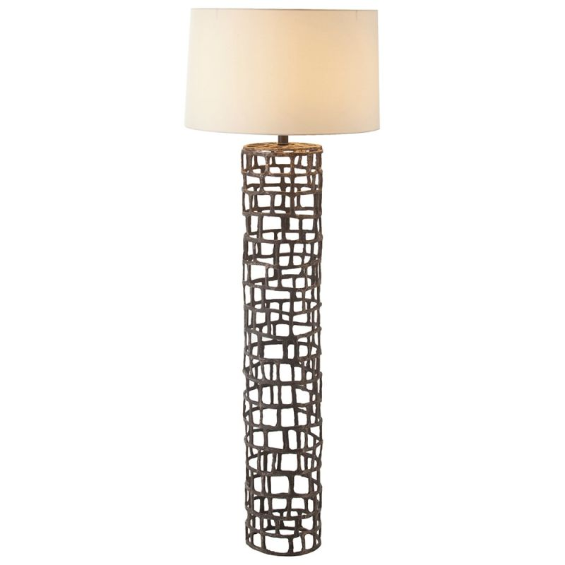 "Arteriors 73121-899 Hansel 1 Light 64.5"" Tall Floor Lamp with Socket"