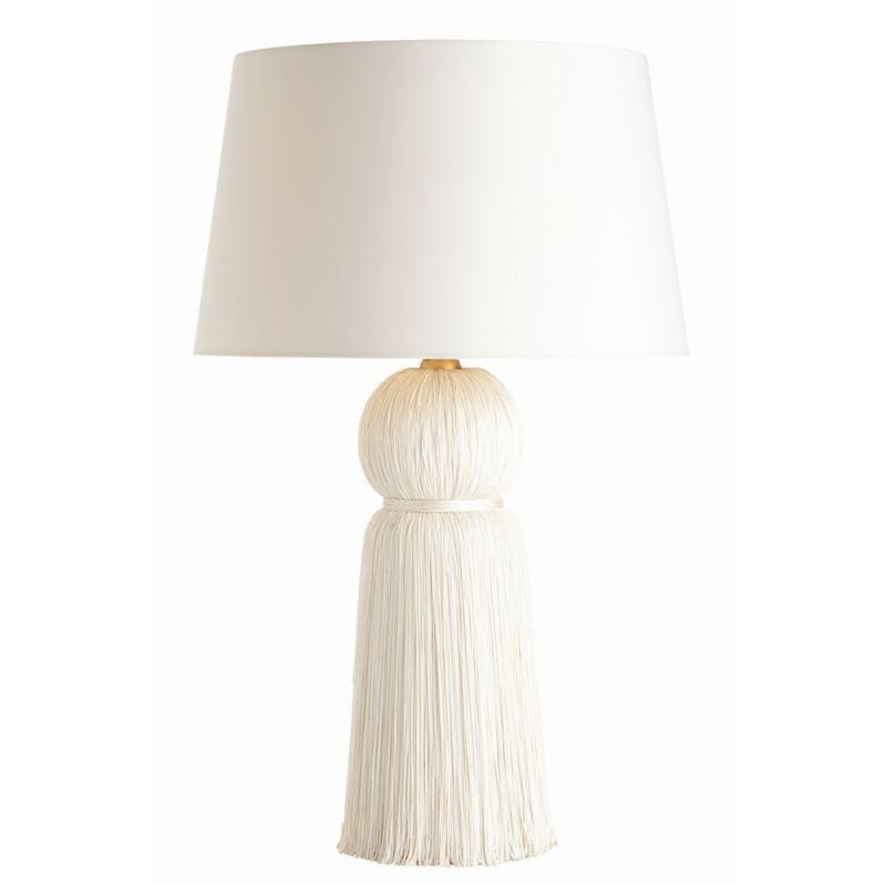"""Arteriors DK49937-754.DK49938-757 Tassel 1 Light 29"""" Tall Table Lamp"""