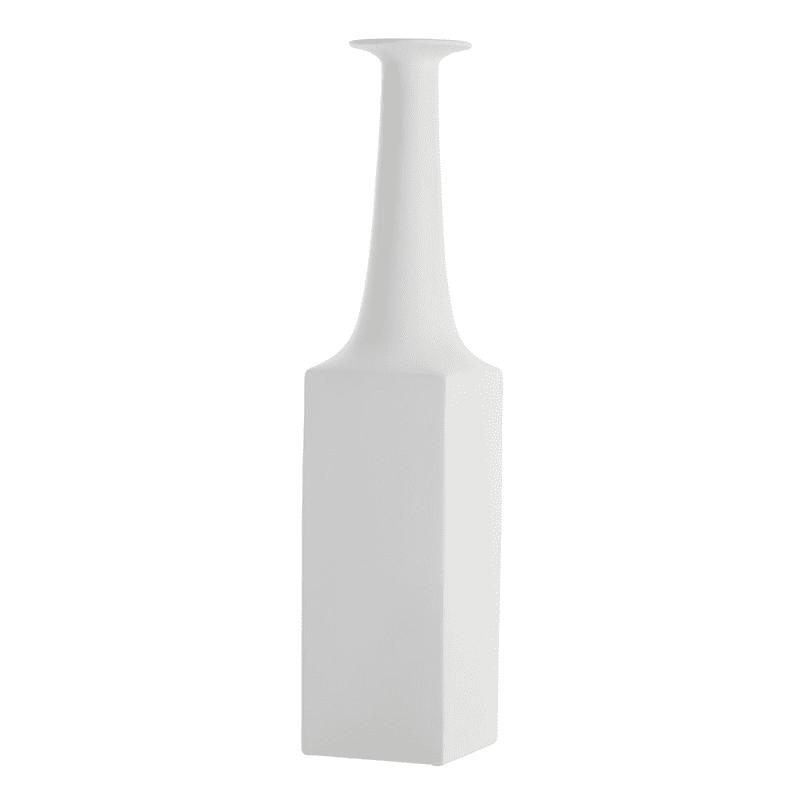 Arteriors DS7009 Lykos 28.5 Inch Tall Porcelain Vase Satin White Home